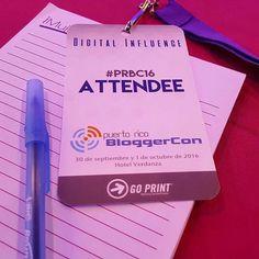Llegamos a aprender un poco más sobre la #influenciadigital en el @prbloggercon . #prbc16 #wisergirls1 http://ift.tt/2dghYvK