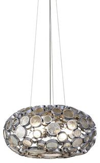 Fascination 4-light Chandelier by Varaluz - transitional - chandeliers - by Lightology