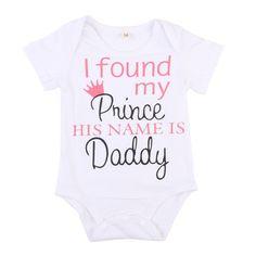 My Prince Daddy Infant One Piece