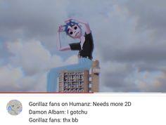 Humanz, gorillaz, 2d, damon albarn