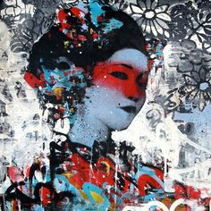 Street Artist Hush ~ Hush's latest work deepens his exploration of the resulting emergences brought about by the evanescent quality of street art. ~ http://studio-hush.com/index.php/about/