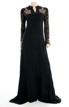 Inspiration for Agrona's dress the day of Nisha and Aeron's wedding in Shadow Walker