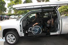 Accessible truck. >>> See it. Believe it. Do it. Watch thousands of SCI videos at SPINALpedia.com