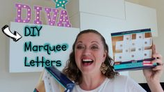 Hello everyone, in this video I'm showing you how to create some amazing quick and easy DIY marquee letters by Heidi Swapp. Diy Marquee Letters, Heidi Swapp, Hello Everyone, Easy Diy, Beautiful Pictures, Pretty Pictures