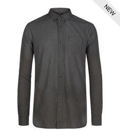 AllSaints Sakamoto Long Sleeved Shirt   Mens Shirts