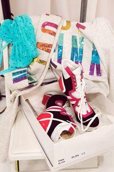 Shoe envy #VSFashionShow