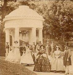 1860s group in Saratoga NY