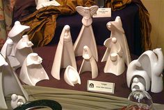 white porcelain nativity | Flickr - Photo Sharing!