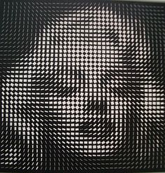 Marilyn Monroe by Yvaral - one of my favorites in my bedroom