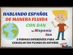 Learn 5 different ways to cancel your plans in Spanish!