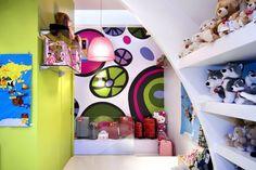toy shop wall art