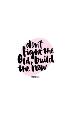 It's not about regretting and thinking about your what ifs, it's about starting fresh - rebuilding yourself!