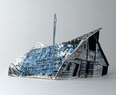 Small Scale Models of Decaying Homes Built and Photographed by Ofra Lapid. - if it's hip, it's here