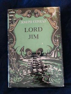 Lord Jim by Joseph Conrad Vintage 1920 HCDJ Doubleday w/Price Intact in Books | eBay