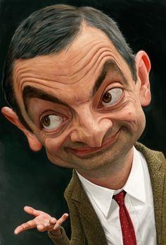 Mr Bean. Rowan Atkinson