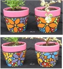more flower pot painting ideas
