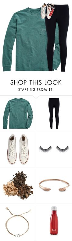 """""""Merry Christmas y'all!1!!1"""" by classynsouthern ❤ liked on Polyvore featuring Vineyard Vines, NIKE, Converse, Huda Beauty, Kendra Scott, Dogeared and S'well"""