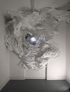 Chaotic cloud by Mia Pearlman