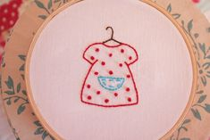 How to embroider cute things