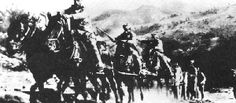 Horses in World War One, here is a pic of them pulling artillary