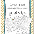 Obtain language baseline data easily for your students. Questions aligned with over 50 Common Core Standards! Quick and easy to administer-simply r...