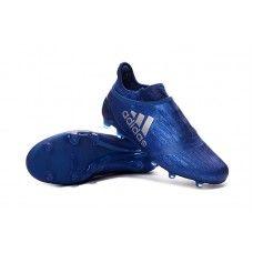 c2cbfe3e73 Adidas X 16 Purechaos FG-AG Azul Royal-Prata sapatos de futebol baratos