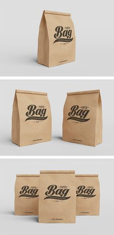Great freebie mockups to showcase your packaging branding in realistic appearance with 3 PSD files.