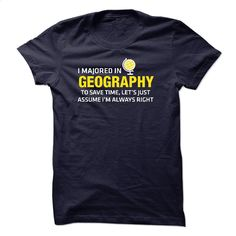 Geography Major T Shirt, Hoodie, Sweatshirts - tshirt printing #Tshirt #fashion