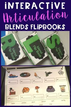need some articulation therapy resources to keep kids working and having fun! Articulation flipbooks will do just that!
