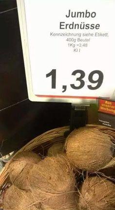 Genauso, wie diesen ERDNÜSSEN hier. | 29 Supermarkt-Angebote, über die keiner auch nur 5 Minuten nachgedacht hat