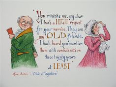 Mr & Mrs Bennet - Pride and Prejudice