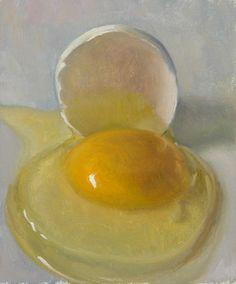 Duane Keiser - Egg No. 33, oil on linen