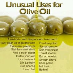 Unusual uses for Olive oil  You always feel better after a DIY job! Why not make it vegan? Come Like us on facebook.com/yummspiration for more vegan stuff!