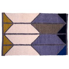 alyson Fox - Shapes Dhurrie Rug - Large