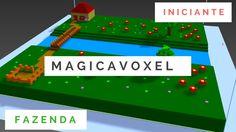MagicaVoxel - Fazendo | Iniciante #01