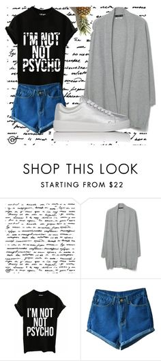 """Untitled #15"" by akhmetovaa ❤ liked on Polyvore featuring MANGO and Prada Sport"