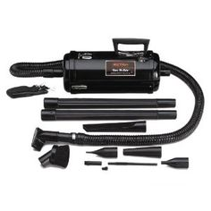 Vac 'N' Blo by Metro Vacuum. Compact vacuum can be used for blowing dust out of tiny or hard to get to areas.