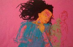 Selina Saranova are you sleeping? 95x146cm. acrylic on canvas