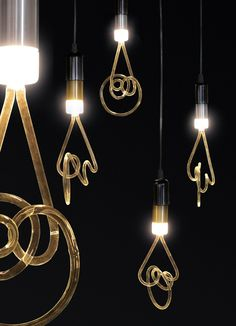 LED light bulb TWIST LAMP by Seletti | #design Alistair Law
