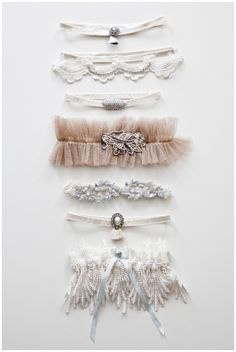 Garters by Ell & Cee and Florrie Mitton