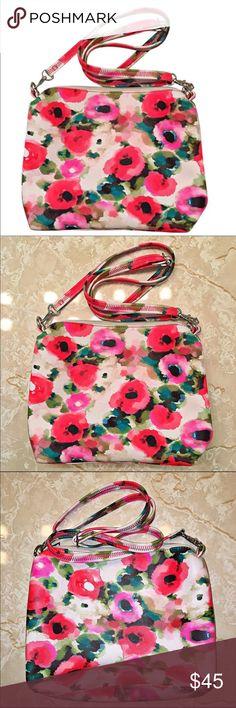 🔹NWOT Floral Print Cross-body Bag Floral Print Cross-body Bag. Carlos Santana Bags Crossbody Bags