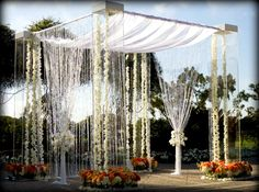 Acrylic,Lucite,Plexiglass Wedding Canopy,Chuppah Rentals,Miami,South Florida,Los Angeles,Orange County,San Diego,Phoenix,Coronado,Orlando Ian Bogan Studios