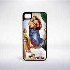 Raphael - Sistine Madonna Phone Case