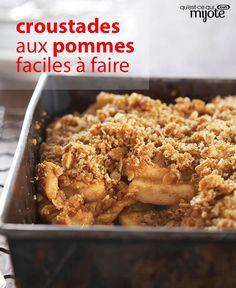 Find simple and easy recipes from Kraft Canada including family favourites such as chicken recipes, delicious appetizers and irresistible desserts. Desert Recipes, Fall Recipes, Sweet Recipes, Pumpkin Recipes, Apple Tv, Apple Crisp Recipes, Classic Desserts, Kraft Recipes, Dessert For Dinner