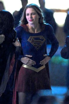 Melissa Benoist returns as Supergirl Fighting Crime on the hit CW show in Vancouver, Canada • Celebrity WOTNOT  --------------- For further information on these stories and images please visit www.celebritywotnot.com. These Images are ©Atlantic Images. No use without permission.