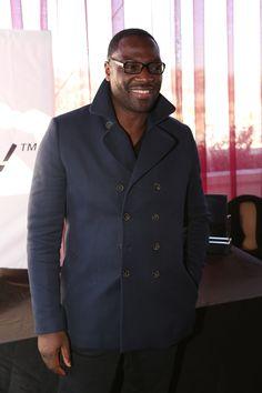 Adewale Akinnuoye-Agbaje looks sophisticated in his frames with Crizal UV lenses