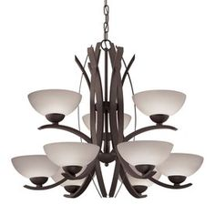 Shop portfolio 6 light dark oil rubbed bronze chandelier at lowes shop portfolio 6 light dark oil rubbed bronze chandelier at lowes for the cabin pinterest oil rubbed bronze chandeliers and lights mozeypictures Image collections