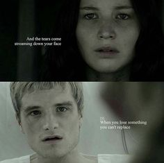 """You can't replace It""  #PeetaMellark #katnisseverdeen #everlark"