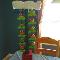 Super Mario Bros Vine Cupcake Stand