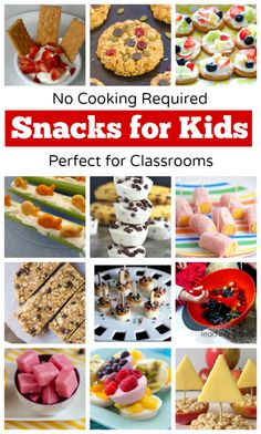 No-Cook Snacks for Kids